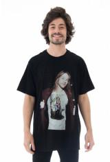 Camiseta Korova X Não Salvo Axel x Marrom NS