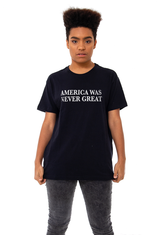 Camiseta Korova America Was Never Great Preta