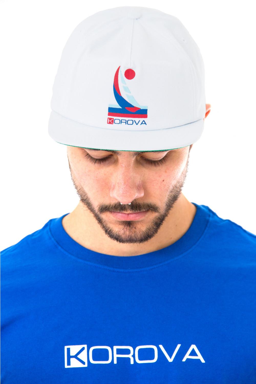 Boné Aba Reta Snapback Korova Yacht Branco
