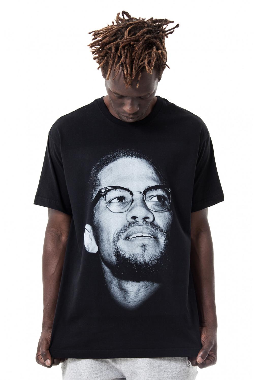 Camiseta Korova Faces Malcolm X