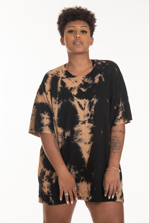 Camiseta Korova Tie Dye Cobre