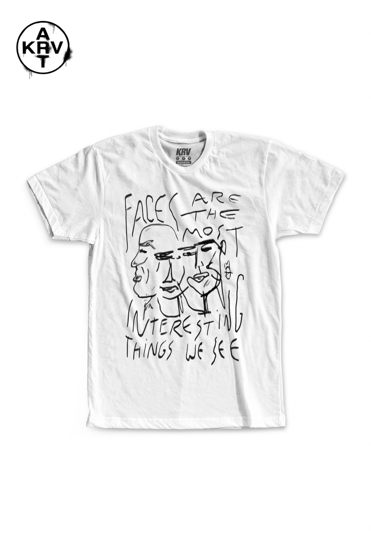 Camiseta Korova x Lucas Coelho FACES