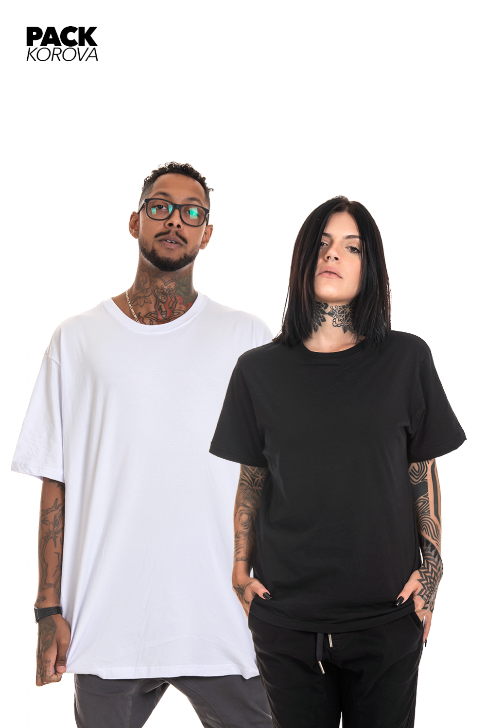Pack de 2 Camisetas (regulares) Korova Básica