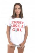 Camiseta Korova Girl (Flower) Power Fight