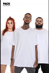 Pack de 3 Camisetas (regulares) Korova Básicas Brancas
