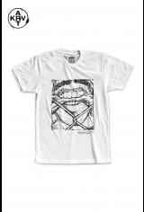 Camiseta Korova x Preto Lauffer FLURRY