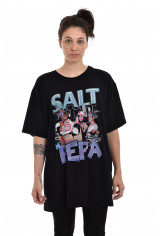 Camiseta Korova Rap 90s Salt'N'Pepa Preta