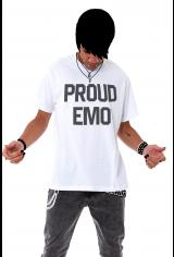 Camiseta Korova Proud Emo Branca
