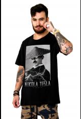 Camiseta Korova Raiden Tesla Preta