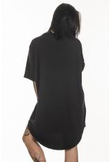 Camiseta Korova Tall Tee Basica Preta