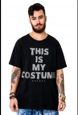 Camiseta Korova This Is My Costume Preta