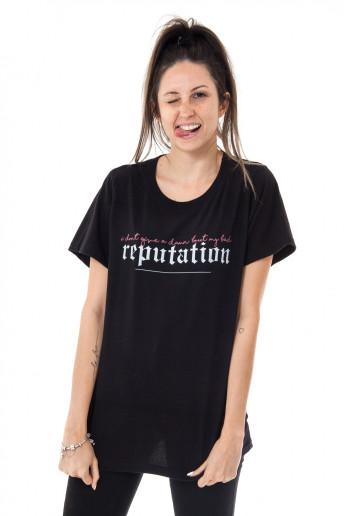Camiseta Korova Reputation Preta