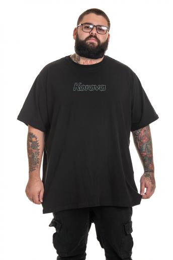 Camiseta Korova Barbwire Preto