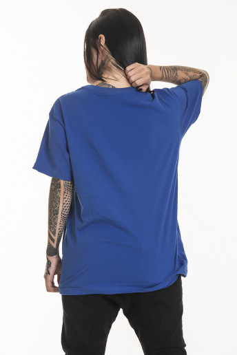 Camiseta Korova Regular Basica Azul Royal