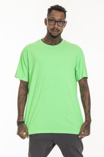 Camiseta Korova Regular Basica Neon Verde