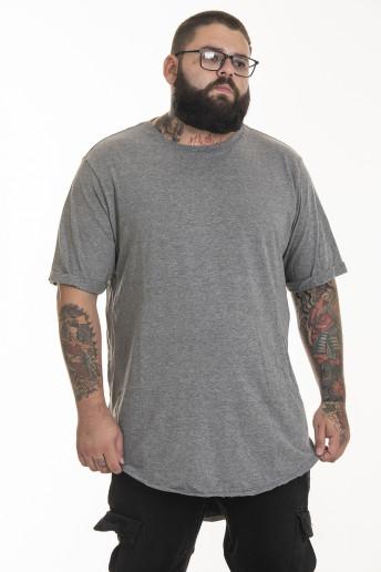 Camiseta Korova Tall Tee Cinza Mescla