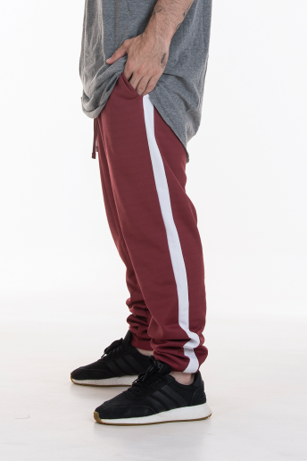 Pack 2 Calças Track Pants Side Stripe Korova Trackerz Bordô/Azul Royal