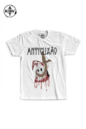 Camiseta Korova x Preto Lauffer ANTICUZÃO