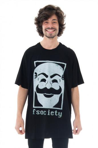 Camiseta Korova X Não Salvo F Society NS