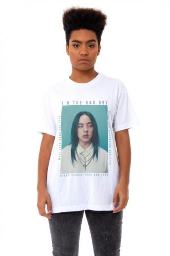 Camiseta Korova Billie Eilish Branca