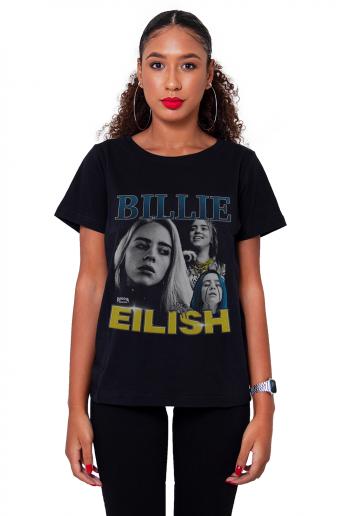 Camiseta Korova Billie Eilish Preta