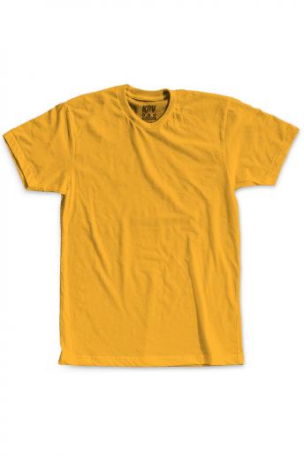 Camiseta (Regular) Korova Kustom Amarelo Âmbar
