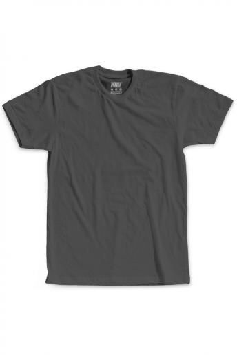 Camiseta (Regular) Korova Kustom Cinza Estonado