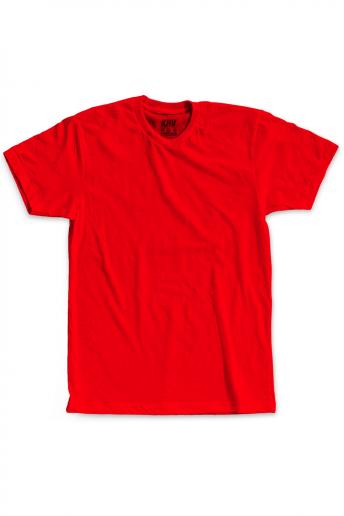 Camiseta (Regular) Korova Kustom Vermelho