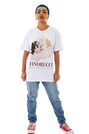 Camiseta (regular) Finorucci Branca
