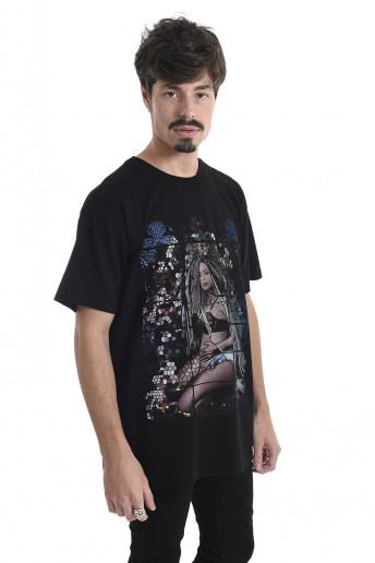 Camiseta Korova Heaven Preta