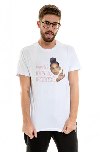 Camiseta (regular) Korova Calm Down Branca