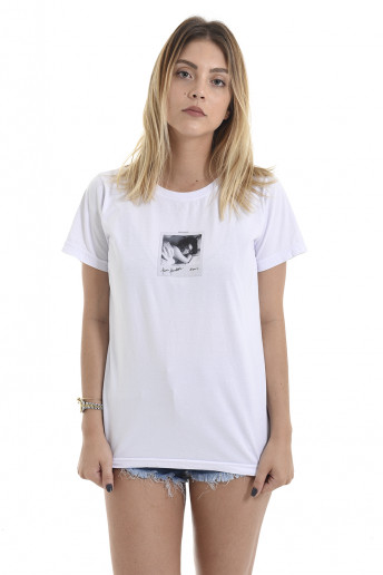 Camiseta Korova Memories Kim Kardashiam Branca