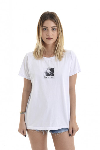 Camiseta Korova Memories Lady Gaga Branca