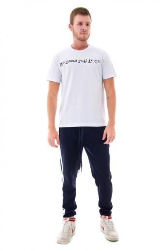 Camiseta (regular) No Tears Left to Cry Branca