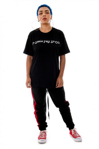 Camiseta (regular) No Tears Left to Cry Preta