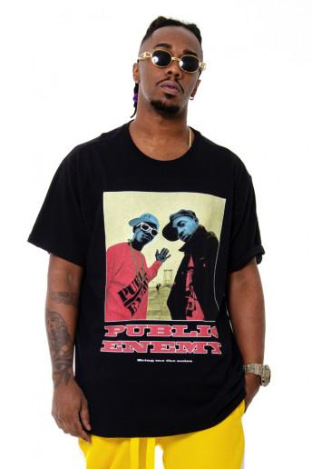 Camiseta Korova 90s Icons Public Enemy Preta