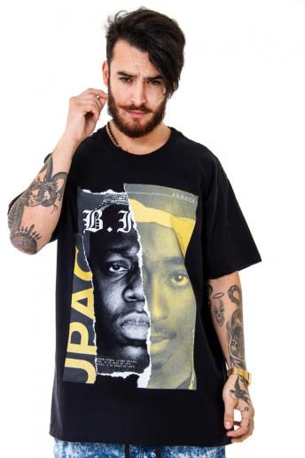 Camiseta Korova BEEFS or BFFs Big x Tupac Preta