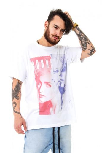 Camiseta Korova BEEFS or BFFs Madonna x Gaga Branca
