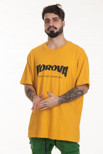 Camiseta Korova Mag Logo Amarelo