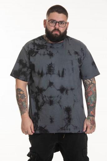 Camiseta Korova Tie Dye Cinza