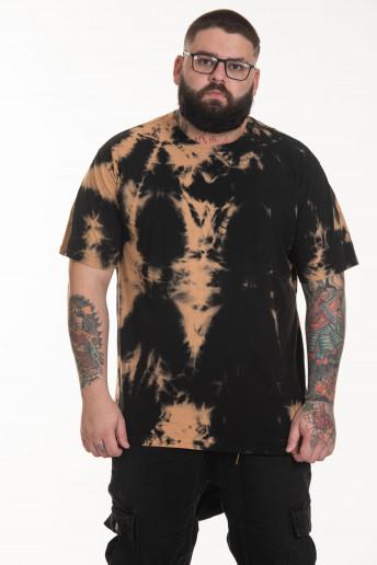 Pack de 2 Camisetas Korova Regulares Tie Dye Cobre/Lilac
