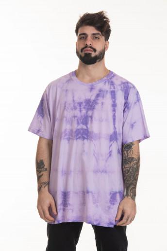 Pack de 2 Camisetas Korova Regulares Tie Dye Cinza/Lilac
