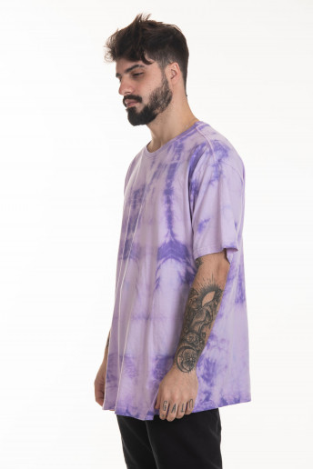 Camiseta Korova Tie Dye Lilac