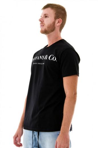 Camiseta (regular) Steffany&Co. Preta