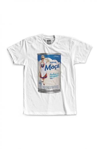 Camiseta Korova Leite Moçanaro
