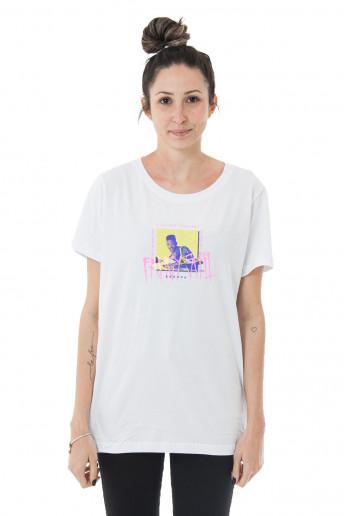 Camiseta Korova No Fancy Shit Branca