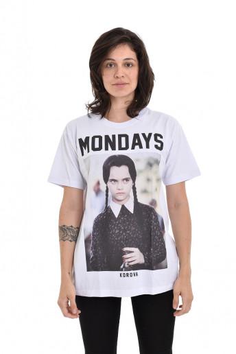 Camiseta Korova Mondays Branca