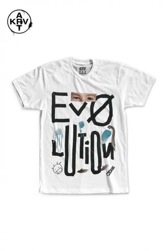 Camiseta Korova x Lucas Coelho EVOLUTION