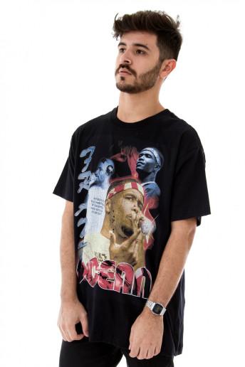 Camiseta Korova Rap 90s Frank Ocean Preta