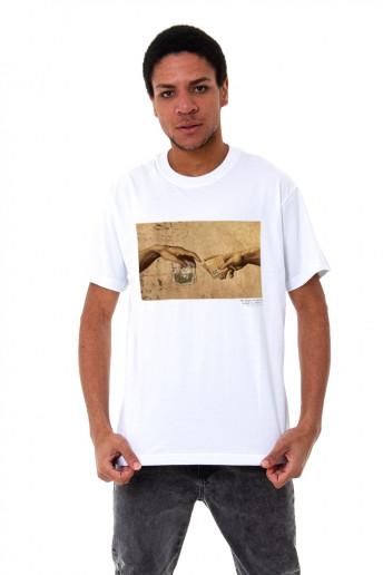 Camiseta (regular) High Creation Branca